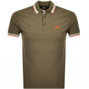 BOSS Athleisure Paddy Polo T Shirt Khaki
